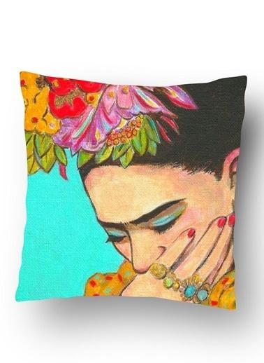 Lyn Home & Decor Frida Potre Yastık Kılıfı Renkli